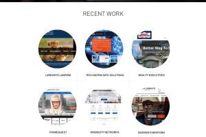 Portfolio for Web Design + Wordpress
