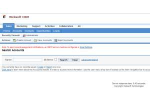 Portfolio for Custom CRM