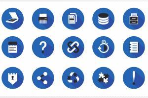 Portfolio for Icon design- Apps| Web| Software