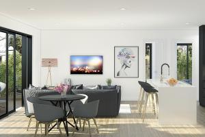 Apartment - Living room \u0026 Kitchen, AUS