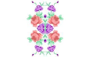 Portfolio for artworks for printed fabrics and clothes