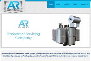 AR Electricals Wordpress development