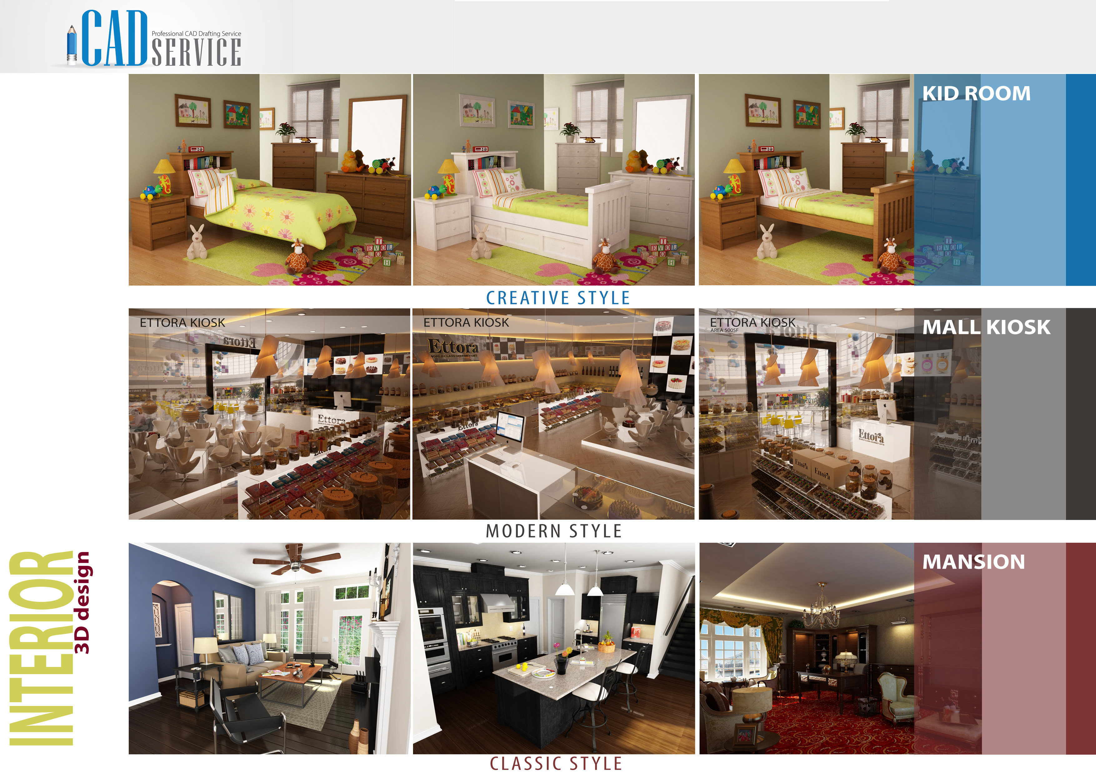 Portfolio for Interior Design Service