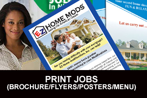 Portfolio for Brochures, Flyer, Reports, Postcard