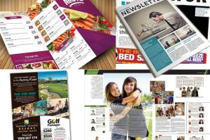 Portfolio for Brochures, ebook, booklet design