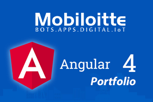 Portfolio for AngularJS 4.0 Development