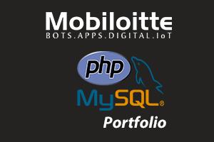 Portfolio for PHP MySQL Development