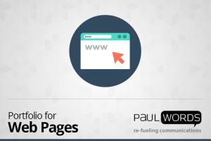 Portfolio for Web Content