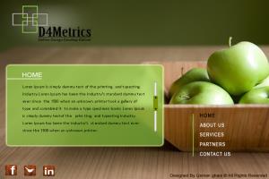 Portfolio for Web Designer / Lead UI Developer