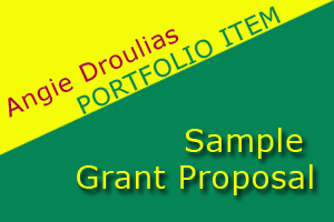 Portfolio for Grant Writing