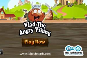 Portfolio for Vlad The Angry Viking IOS GAME