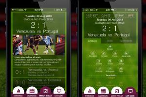 Portfolio for UX & UI design (mobile apps specialize)