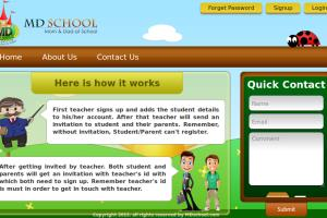 Portfolio for School Web & Mobile Applications
