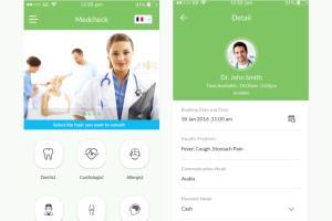 Portfolio for Medical Website & Mobile Application
