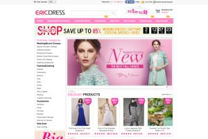 Ecommerce Site for Eric Dress