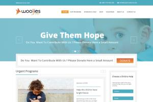 Portfolio for Non profit Donation Website Development