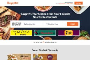 Portfolio for Food Ordering Restaurant Website