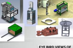 Portfolio for Mechanical modelling and detailing