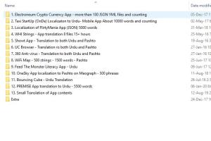 13 Translations of App Contents