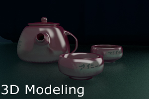 Portfolio for 3D Modeling and UV Mapping