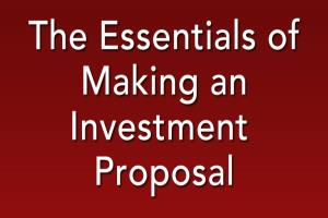 Portfolio for Business Plans and Investment Proposals