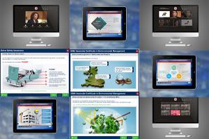 Portfolio for Custom E-learning Development