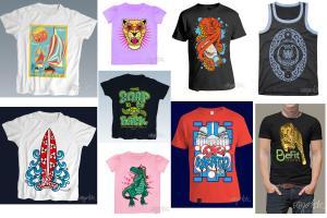Portfolio for T-shirt and Apparel Design