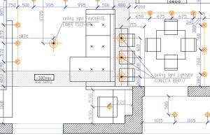 Portfolio for Interior drawings