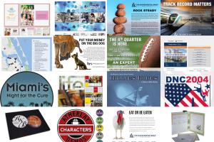 Portfolio for Art Direction, Graphic Design, Layout