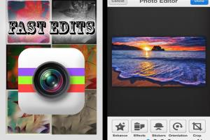 FastEdits iOS / Android