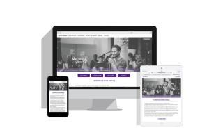 Portfolio for Webdesign - Front end development