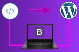Portfolio for WordPress Bootstrap Web Development
