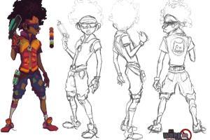 Portfolio for Character Design Concepts
