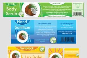 Portfolio for Product Label Design