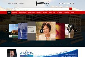 Koni TV: WordPress with custom Application