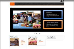 Portfolio for Charity Website