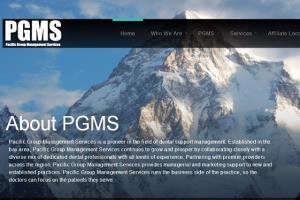 Creative Website for PGMS, San Fransisco