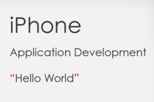 Portfolio for iPhone Application Development