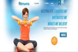 Fit Mums Custom Website Wordpress