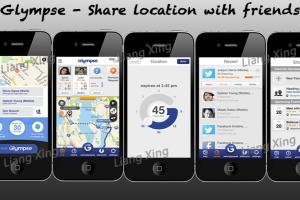 Glympse - Share Location with Friends