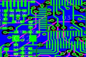 Portfolio for Electronic Circuit Design - PCB layout