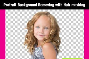 Portfolio for Portrait background removing