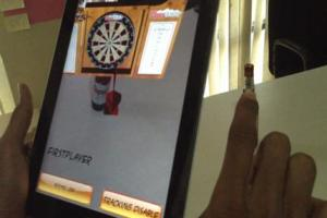 Coors Beer Dart Game AR App