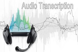 Portfolio for Professional Transcriber and Translator.