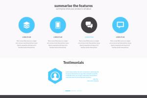 Portfolio for PSD to HTML, responsive designing using