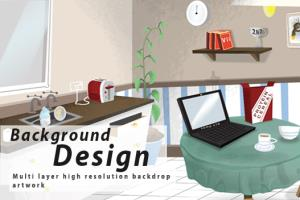 Portfolio for Background design