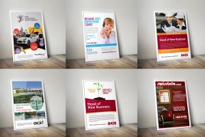 Portfolio for Design your flyer,  poster, or Brochure