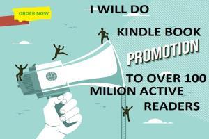 Portfolio for I will do kindle book promotion
