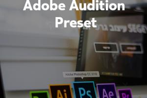 Portfolio for Adobe Audition Preset