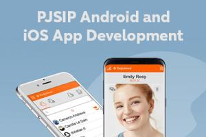 Portfolio for VoIP Mobile Linphone or PJSIP Android an